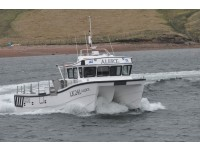 Alert III on Sea Trials